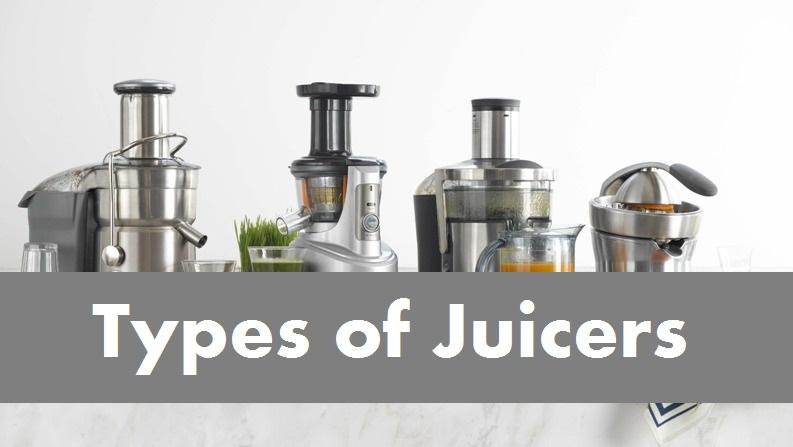 Soorten juicers slowjuicers